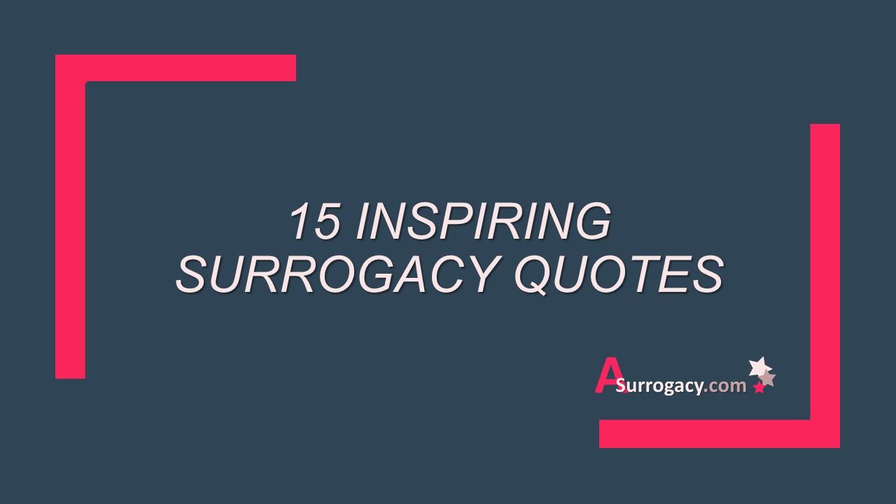 Surrogacy quotes