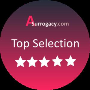 top selection Asurrogacy badget
